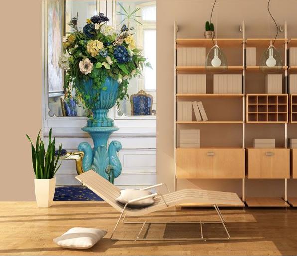 tendance au papier peint original pour salon et chambre d co cool. Black Bedroom Furniture Sets. Home Design Ideas