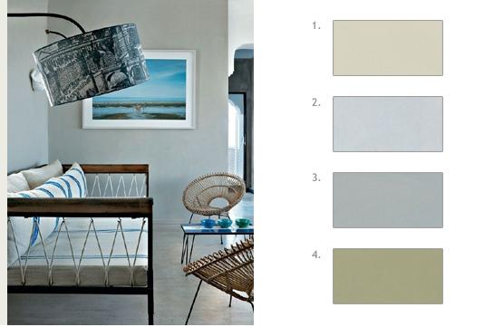 quelle couleur peinture associer avec du gris. Black Bedroom Furniture Sets. Home Design Ideas