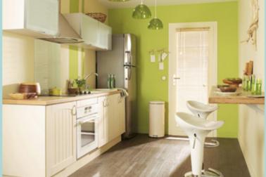 Am nagement cuisine en lin aire dans petit espace - Amenagement cuisine espace reduit ...