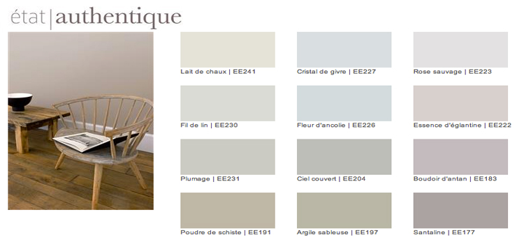 Couleur lin nuancier pour d co de salon zen for Peinture salon zen
