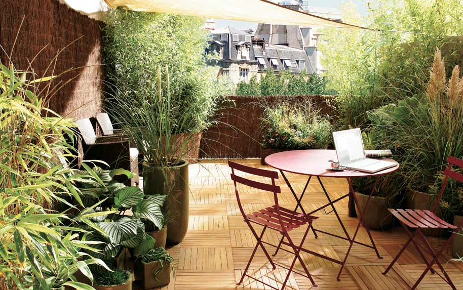 Comment amenager une terrasse zen - Comment amenager une grande terrasse ...