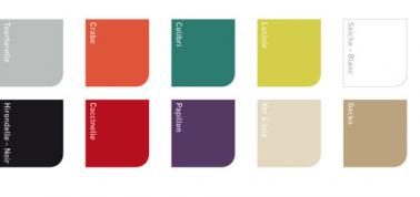Nuancier peinture acrylique gripactiv v33 10 coloris for Peinture v33 pour meuble