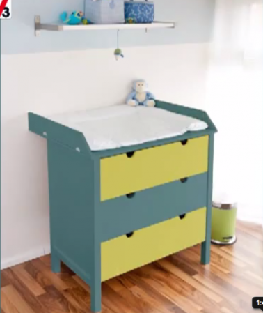 Gripactiv v33 peinture acrylique pour meuble bois et stratifi for Peinture sur meuble