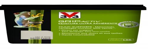 Peinture pour meuble et carrelage gripactiv v33 for Peinture sans sous couche pour meuble
