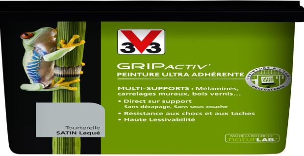Peinture pour repeindre un meuble en bois gripactiv v33 - Peindre meuble melamine sans sous couche ...