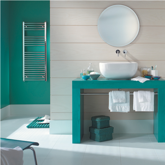 salle de bain peinture couleur turquoise peintures astral. Black Bedroom Furniture Sets. Home Design Ideas