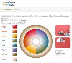 simulateur couleur peinture Dulux Valentine pour tester les couleurs de peinture d'intérieur