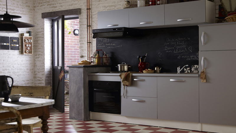 L 39 am nagement d 39 un studio de 29 m2 bien pens i d co - Amenagement cuisine castorama ...