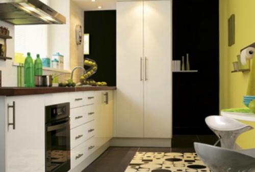 comment amenager une petite cuisine d coration maison et. Black Bedroom Furniture Sets. Home Design Ideas