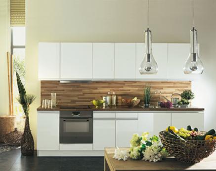 cuisine blanche 20 id es d co pour s 39 inspirer deco cool. Black Bedroom Furniture Sets. Home Design Ideas
