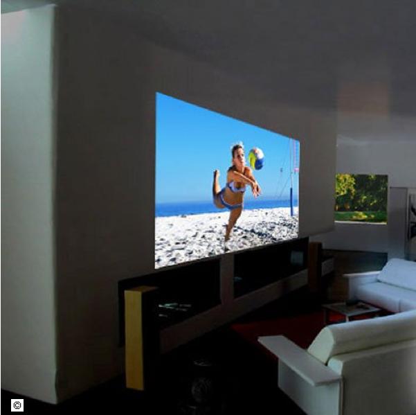 peinture cran ou peinture home cinema. Black Bedroom Furniture Sets. Home Design Ideas