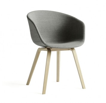 chaise about a chair design welling tissu gris