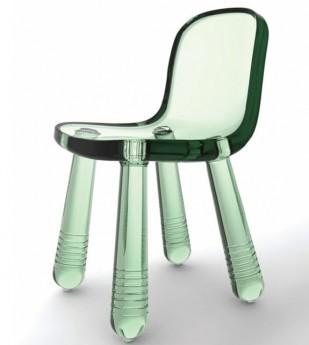 chaise sparkling de chez magis coloris vert