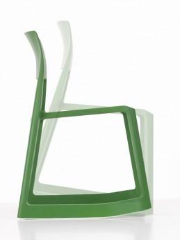 chaise tip Ton de chez Vitra plusieurs coloris piétement à bascule
