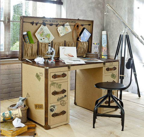 8 bureaux pour la chambre des tudiants en herbe gar on for Bureau fille maison du monde