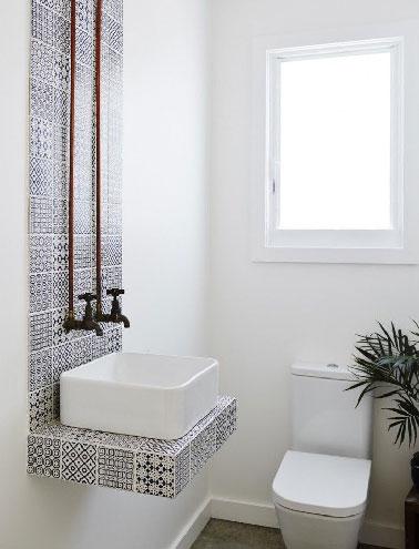10 couleurs pour la d co des toilettes deco cool - Lavabos ontwerp ...