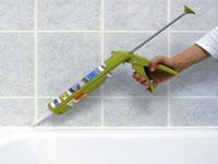Refaire sa salle de bain carrelage peinture couleur - Comment enlever joint silicone baignoire ...
