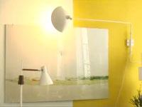 comment peindre un mur de plusieurs couleurs dans salon chambre. Black Bedroom Furniture Sets. Home Design Ideas