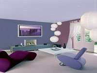 Comment peindre un mur de plusieurs couleurs dans salon chambre for Peindre un salon en deux couleurs
