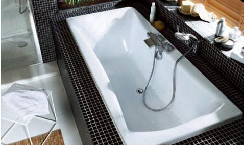 astuce pour poser facilement un joint silicone autour lavabo, baignoire,bac à douce dans salle de bain