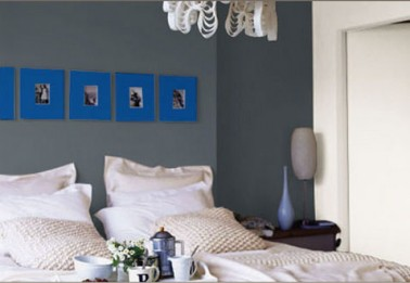 14 id es couleur d co pour associer du gris un bleu. Black Bedroom Furniture Sets. Home Design Ideas