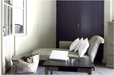 couleurs salon belle association de violet et gris - Association De Couleur Pour Salon