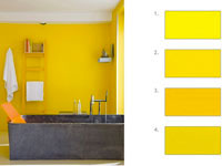 decoration-interieur-harmoniser-le-jaune-nuancier