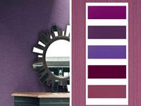 Comment associer la couleur gris en d coration deco cool - Peinture gris violet ...