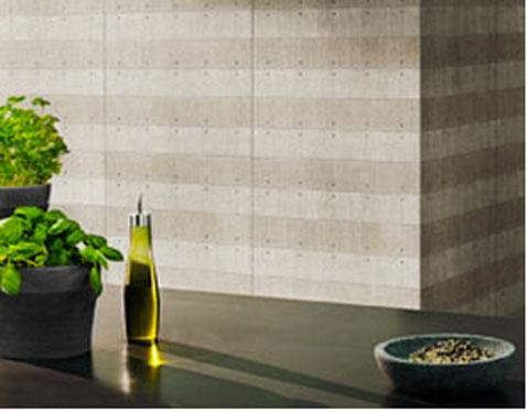 le papier peint effet b ton c 39 est bluffant d co. Black Bedroom Furniture Sets. Home Design Ideas