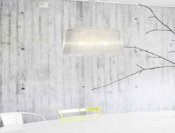 papier-peint-effet-beton-dans-salle-a-manger