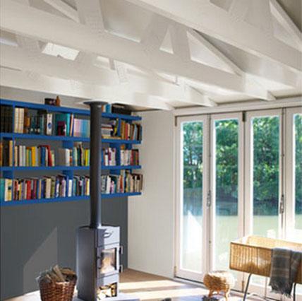 14 id es couleur d co pour associer du gris un bleu - Bibliotheque decoratie de maison ...