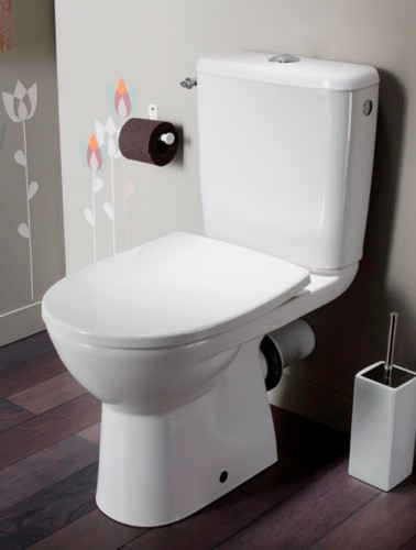 10 couleurs pour la d co des toilettes deco cool - Decoration toilette gris ...
