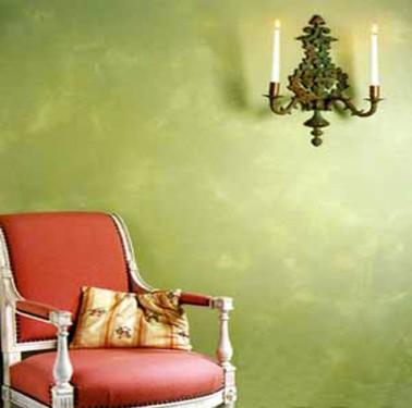 Peinture patine murs effets du temps blancolor - Peinture aspect vieilli ...
