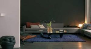 couleur taupe, idee deco peinture salon et chambre taupe