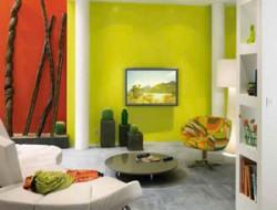 D coration peinture murale salle a manger for Marier couleurs peinture murale
