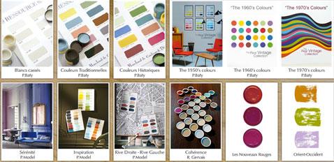 la gamme complète des peintures Ressource comporte enduits peintures a effet, peintures a la chaux