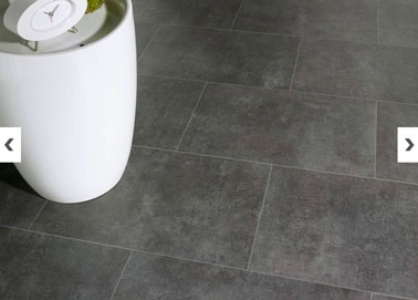 Rev Tement Sol Vinyle Imitation Carrelage Gris Anthracite Pour Salon Leroy Merlin