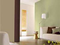 savoir utiliser la couleur de peinture pour modifier l'impression de volume dans un salon, une cuisine, une chambre