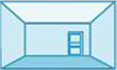 Pour donner l'impression que le plafond est plus haut dans une pièce, peindre le plafond avec une couleur plus claire que celle des murs, le blanc étant la couleur idéale pour créer une impression de hauteur dans une pièce
