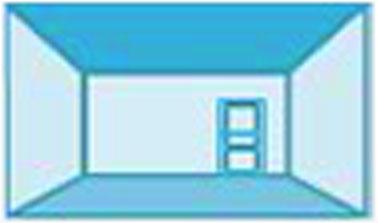 Pour créer une ambiance plus intime dans une pièce avec d'un grand volume, misez sur les tons foncés, notamment pour le revêtement de sol et la couleur du plafond