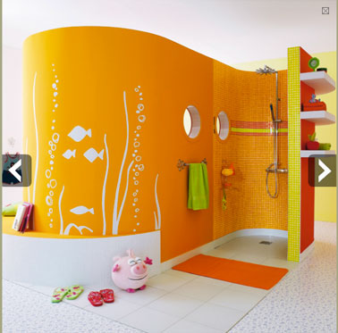 douche a l 39 italienne dans une chambre enfant leroy merlin. Black Bedroom Furniture Sets. Home Design Ideas