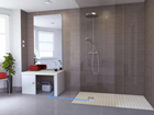 installer une douche italienne Sanifloor SFA