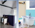 peinture pour salle de bain, tout sur la peinture spéciale salle de bain  pour peindre mur peindre carrelage murs et sol salle de bain