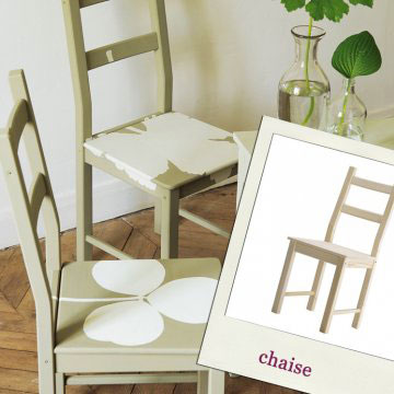 relooker chaise cuisine. Black Bedroom Furniture Sets. Home Design Ideas