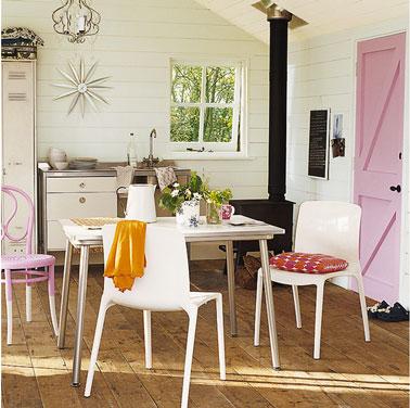 Booster la decoration de sa cuisine pour quelques euros for Deco cuisine avec chaise en couleur