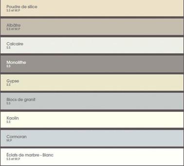 64 couleurs peinture pour peindre salon chambre - Nuancier couleur peinture murale ...