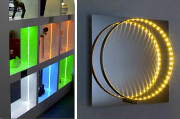 Les éclairages indirects LED pour une ambiance conviviale dans le salon