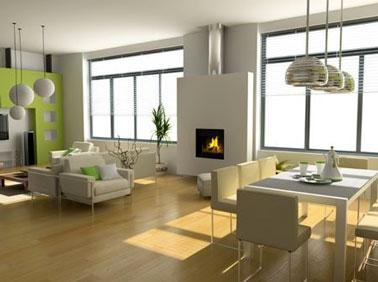Pour agrandir son salon, 1ere astuce, alléger l'espace, ranger, vider le salon des petits meubles inutiles et encombrants