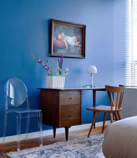 Bleu monaco la couleur tendance pour le salon la chambre for Jugendzimmer quelle