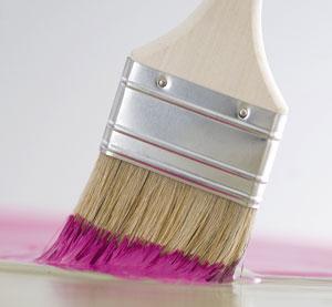 decoration-salon-cuisine-chambre-couleur-peinture-rose
